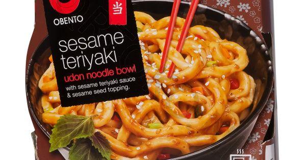 Obento Sesame Teriyaki Udon Noodle Bowl-240 gr-N9310432003656-31 ...