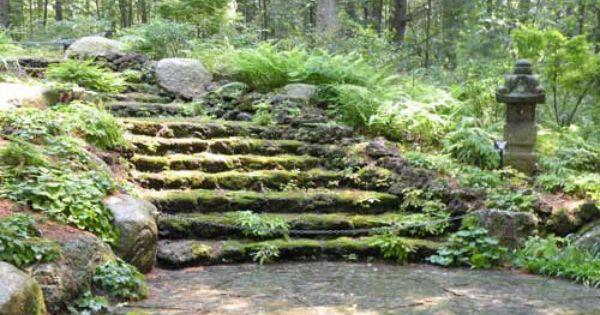 Tower Hill Botanical Gardens Boylston Ma Moss Steps Outdoor Garden Spaces Pinterest