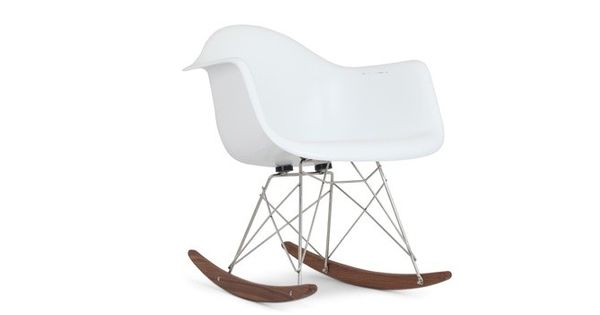 Charles eames reproduction chaise bascule rar charles for Chaise eames dsw fibre de verre