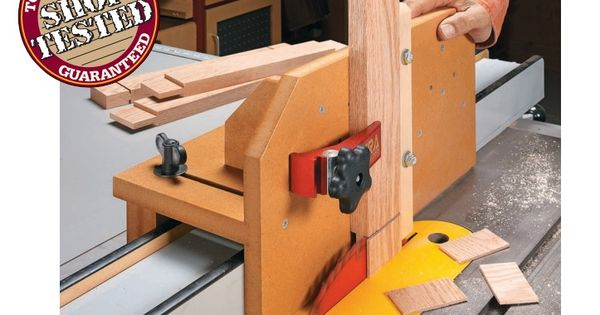 Adjustable Tenon Jig From Woodsmith Http Www