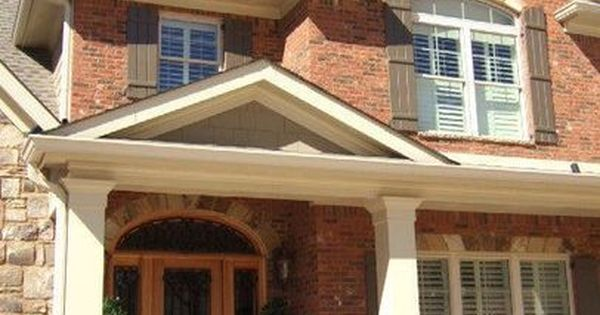 Exterior paint colors that go with red brick paint - Paint colors that go with red ...