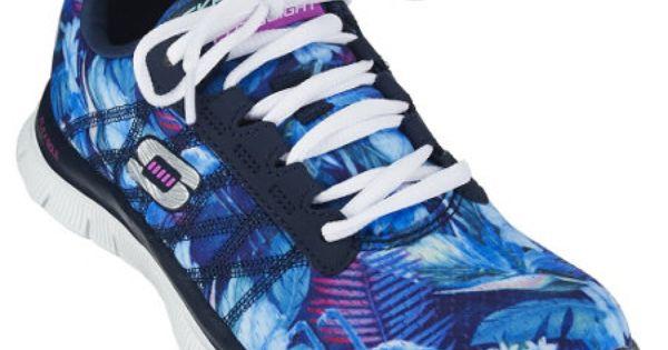 Skechers Printed Mesh Sneakers w