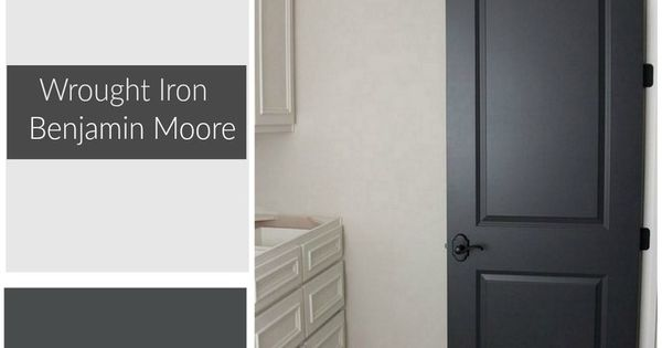 Color Spotlight Benjamin Moore Wrought Iron Benjamin