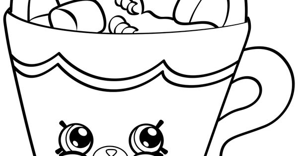 petkins shopkins coloring pages - photo#19