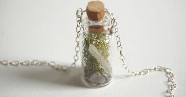 Tutorial Tuesday Tiny Terrarium Necklace Easy Craft