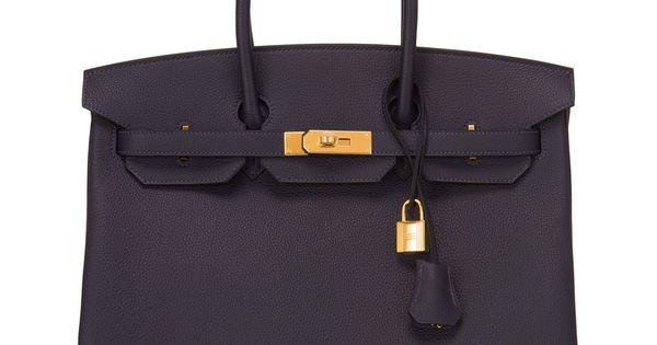 blue ostrich purse - hermes blue nuit togo birkin 35cm gold hardware, replica birkin ...
