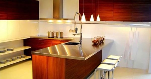 18 dise os de cocinas modernas deco cocina pinterest for Deco cocinas modernas