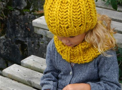 Hipster Knitting Patterns : Free Pattern: Knit Fisherman Ribbed Hipster Hat Yellow hats, Patterns and S...