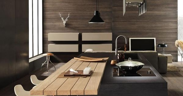 designer k che holz barhocker die barhocker oder. Black Bedroom Furniture Sets. Home Design Ideas