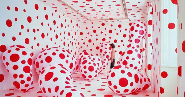 Polka Dots Madness 6 by Yayoi Kusama Installation Polka_Dots Yayoi_Kusama