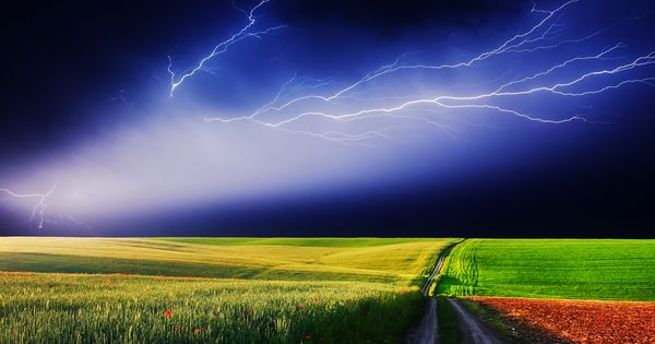 Blue Electrical Storm | Haha | Pinterest | Storms, Mother
