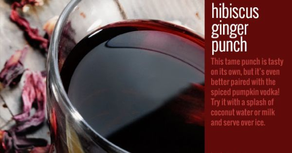 Hibiscus, Punch and Punch recipes on Pinterest