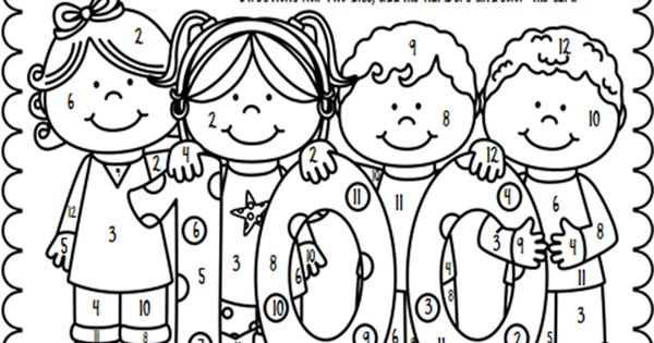 Freebie celebrate the 100th day of school by having for Miss bindergarten gets ready for kindergarten coloring pages