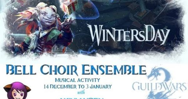 Guild Wars 2 Wintersday Bell Choir Ensemble 2012 Guild Wars Guild Wars 2 Choir