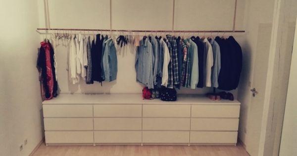 offener kleiderschrank offener kleiderschrank kleiderschr nke und schlafzimmer. Black Bedroom Furniture Sets. Home Design Ideas