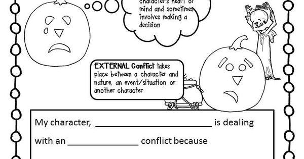 Free Internal Amp External Conflict Activity Sheet