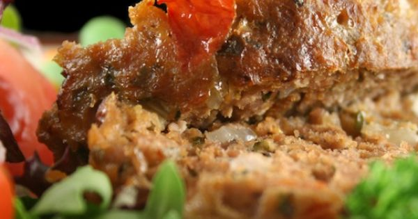 Bacon Topped Petite Turkey Meatloaf With BBQ Sauce Recipe — Dishmaps