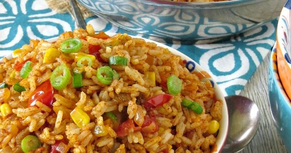 Mexican Fried Rice | Recipe | Mexican Fried Rice, Fried Rice and ...