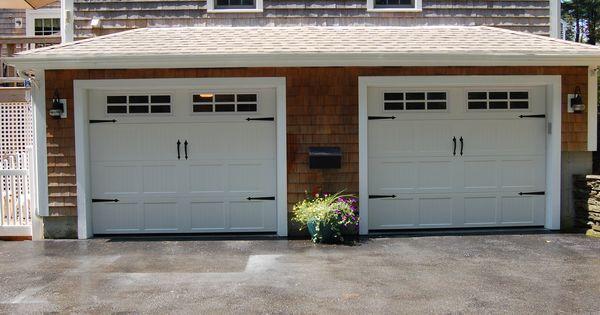 Haas Model 660 Steel Carriage House Style Garage Doors In