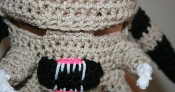 Xenomorph Knitting Pattern : Predator Inspired Crochet Mask Hat. Inspired by Film ...