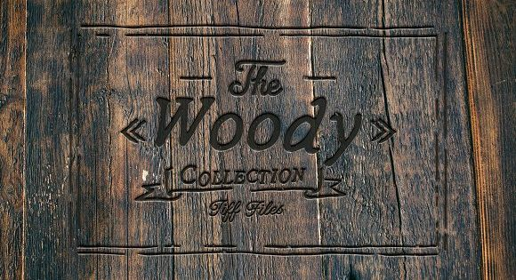 The Woody Collection – Wooden texture from old chopping board to wood on Alpine houses