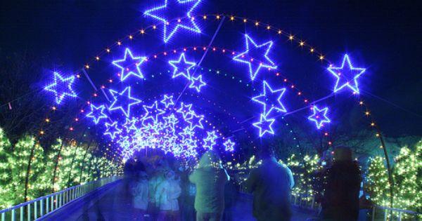 Trail Of Lights Zilker Park Austin Texas Austin
