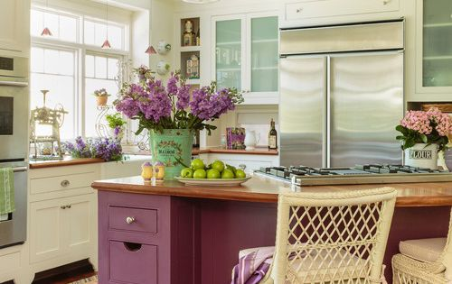 victoria kitchen cabinets colorful cottage charming home tour kitchens kitchen 3133
