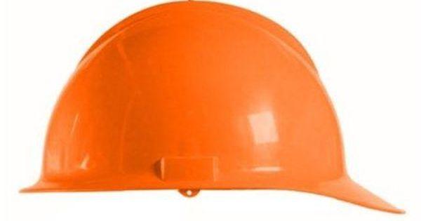 Bullard Hiviz Orange Classic Model C30 Hardhat With 6 Point Ratchet Suspension Hard Hats Bullard Orange