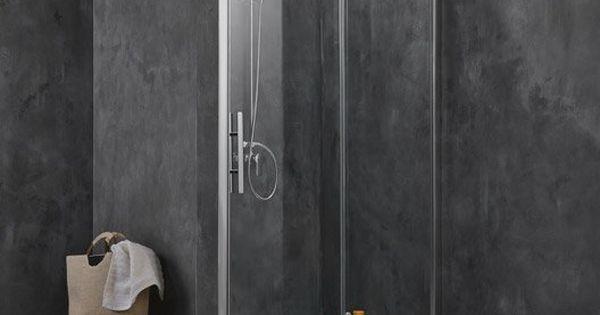 Porte de douche coulissante BREUER Adena verre de