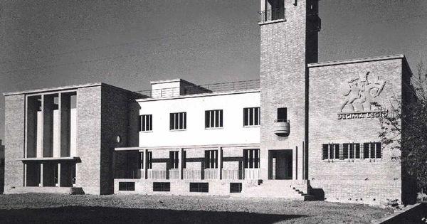 Casa del fascio alberto legnani la casa del fascio di - Architettura casa moderna ...