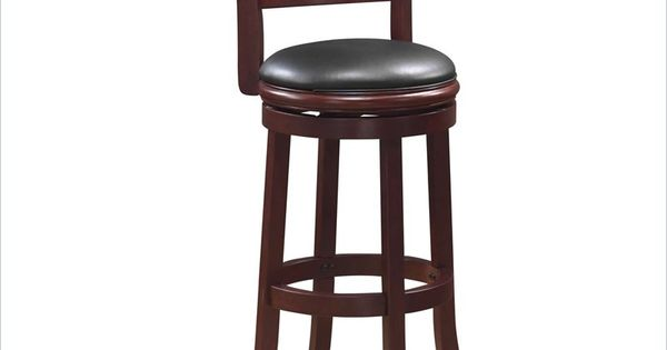 Boraam Augusta 29 Quot Swivel Bar Stool In Cherry Stools