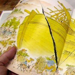 How To Repair A Torn Page In A Book Book Repair Repair Book Binding