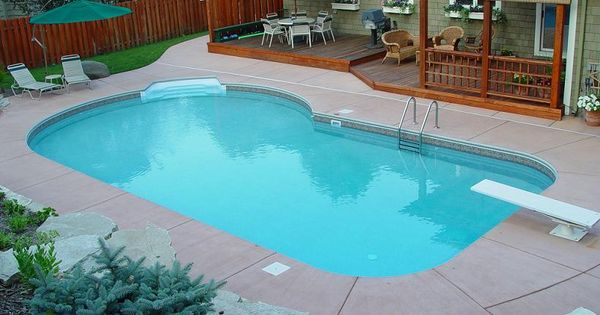 Small Inground Pool Custom Inground Pools From Peterson Pools And Spas A Minnesota Pool