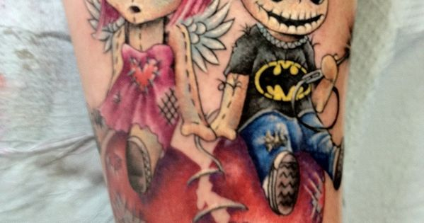 Creepy Dolls. Killer Ink. Tattoo just the little girl and heart...next to