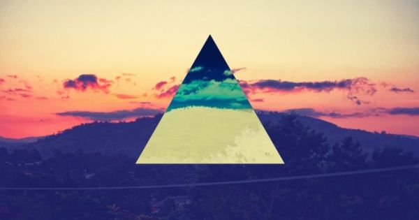 Hipster Symbol Triangle We Heart It Hipster Wallpaper Invert Colors Art