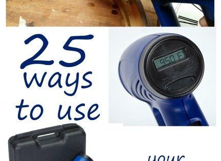Heat Gun Ideas Including Diy Uses And Heat Gun Craft Ideas