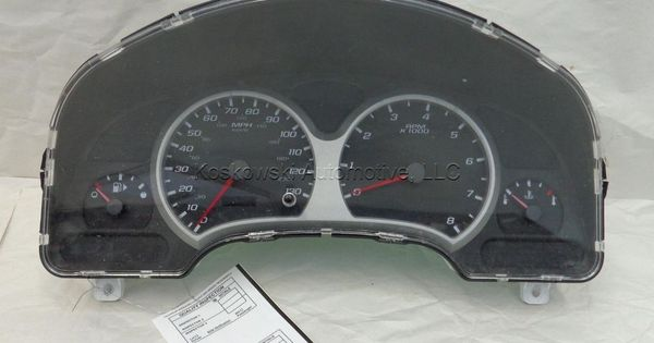 Chevy Equinox Instrument Cluster 05 06 Mph 15289974 22734851 Speedometer Dash Chevy Equinox Chevy Instrument Cluster