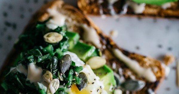 Avocado toast, Toast and Kale on Pinterest