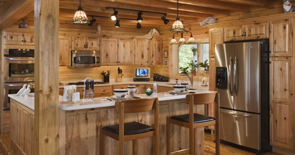 Log Cabin Kitchen Design Pictures Log Cabin Awesome Log Home Interior Design Ideas With