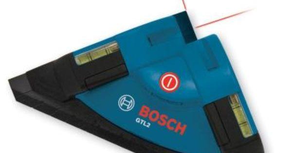 Bosch Tile Laser Square Laser Level Gtl2 The Home Depot Laser Levels Bosch Wood Working Gifts
