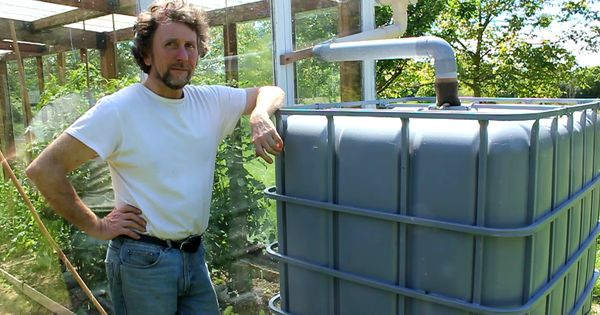 Rainwater Harvesting From Roof Of Recuperated Glass