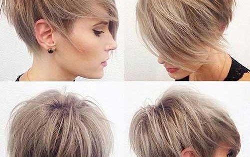 Really Trendy Asymmetrical Pixie Cuts Asymmetrical Pixie Asymmetrical Pixie Haircut And