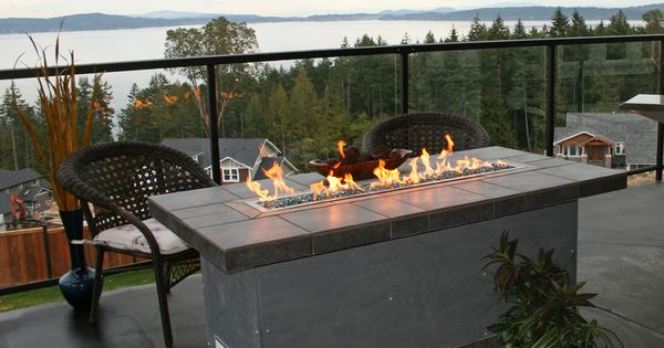 Outdoor Fire Table | Outdoor Kitchen / Yard Stuff | Pinterest | Outdoor Fire,  Fireplaces And Outdoor Fireplaces