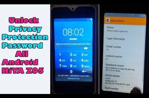 Here How To Reset Unlock Privacy Protection Password All Android