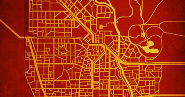 Resident Evil Raccoon City Map Art Resident Evil City Prints Map Art