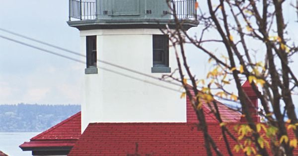 Alki Point Lighthouse West Seattle Washington Built: built in seattle
