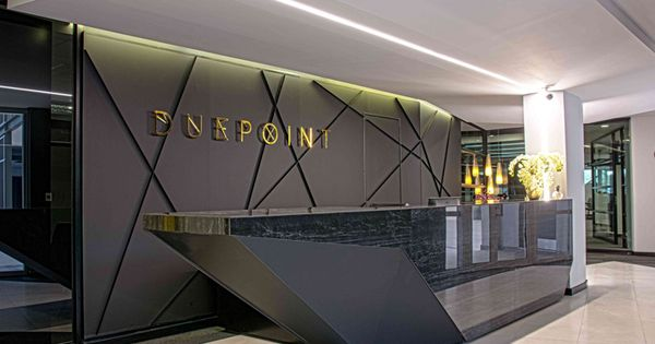Due point financial services offices by onepointzero for Architectural design companies in johannesburg