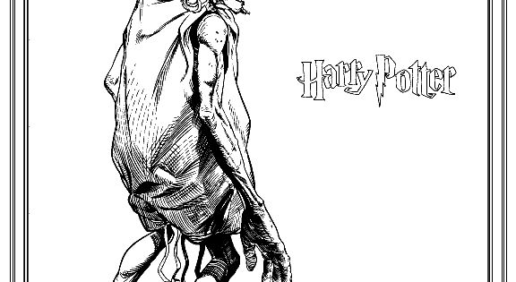 doby harry potter coloring pages - photo#30