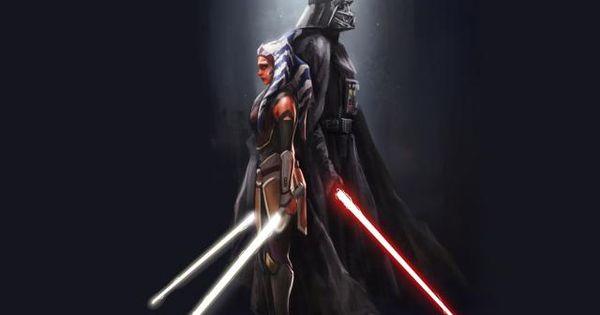 Ahsoka Tano X Darth Vader Wallpaper Hd Movies 4k Wallpapers Images Photos And Background Wallpapers Den In 2021 Star Wars Ahsoka Darth Vader Wallpaper Star Wars Wallpaper
