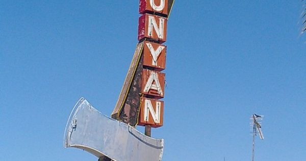 Paul bunyan motel porterville ca vintage signs for Tattoo grand rapids mn